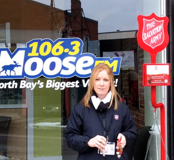 Salvation Army kicks off annual kettle fundraiser - My North Bay Now