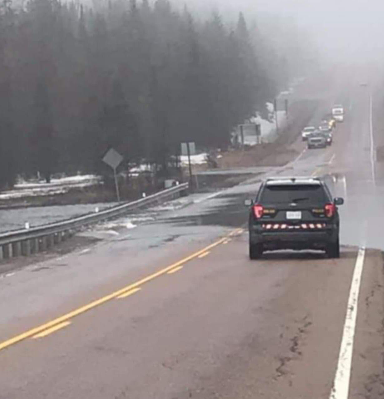 UPDATED: Highway 17 closed east of North Bay - My North Bay Now